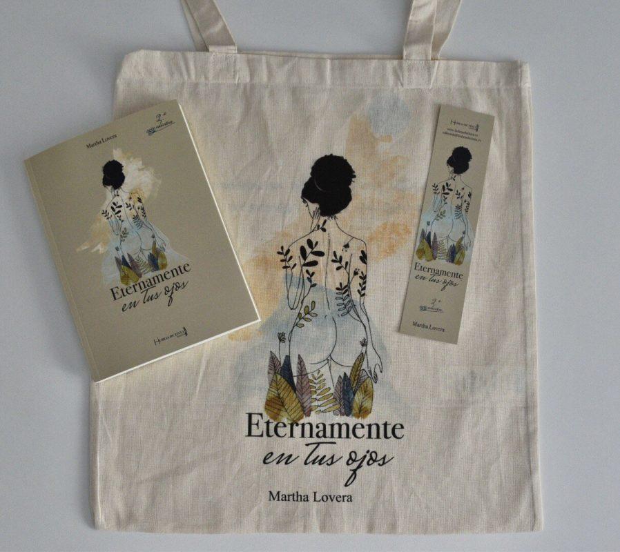pack bolsa y libro